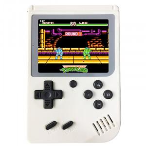 RS-6A Retro Mini Console de jeu portable, 3,0 pouces 8 bits Couleur 168 Jeux Retro FC Player Player (Blanc) SH693W294-20