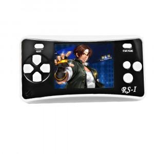 Console de jeu portable portable RS-1 Retro, écran à cristaux liquides True Color 2,5 pouces 8 pouces, jeu de 152 jeux intégrés (noir) SH695B12-20