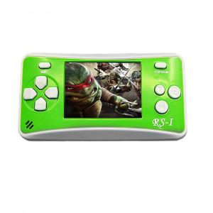 Console de jeu portative rétro RS-1, écran à cristaux liquides True Color 2,5 pouces 8 pouces, intégré, 152 types de jeux (vert) SH695G1903-20