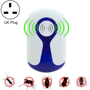 2 PCS 3W Répulsif ultrasonique électronique de ravageur d'insecte de rat de moustique avec la lumière, prise BRITANNIQUE, CA 90-240V S2015C1497-20