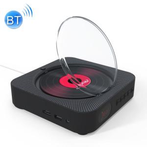 KC-606 Lecteur DVD Bluetooth 4.2 + EDR à montage mural avec télécommande, support FM (noir) SH669B962-20