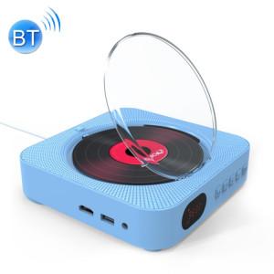 KC-606 Lecteur DVD Bluetooth 4.2 + EDR à montage mural avec télécommande, support FM (bleu) SH669L1171-20