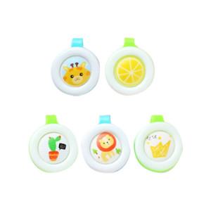 5pcs Creative Cartoon Style enfant bébé femme enceinte couleur aléatoire livraison Portable, Mosquito Repellent Buckle S51872524-20