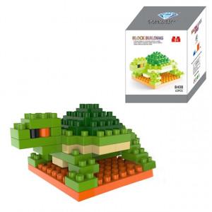 Tortue Bande Dessinée Lego Assemblé Enfants DIY Lumières Assemblées Blocs de Construction Éducatifs Intelligence Jouet SH6574762-20