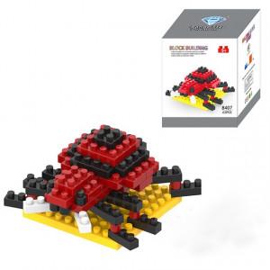 Coccinelle Cartoon Lego Assemblé Enfants DIY Lumières Assemblées Blocs de Construction Éducatifs Intelligence Jouet SH65751617-20