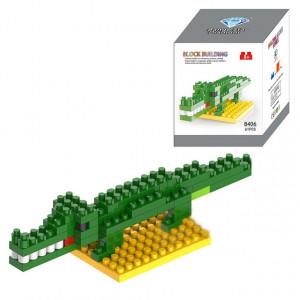 Crocodile Bande Dessinée Lego Assemblé Enfants DIY Illumination Assemblé Blocs de Construction Éducatifs Intelligence Jouet SH65761512-20