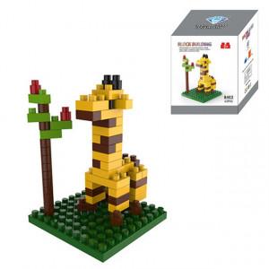 Girafe Cartoon Lego Assemblé Enfants DIY Lumières Assemblées Blocs de Construction Éducatifs Intelligence Jouet SH6578696-20