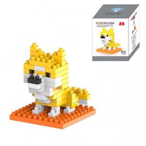 Chien Cartoon Lego Assemblé Enfants DIY Illumination Assemblé Blocs de Construction Éducatifs Intelligence Jouet SH6579637-20