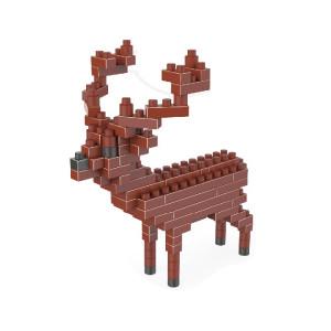 Sika Cerf Motif En Plastique Particule De Diamant Building Block Lego Assemblé Jouets SH72111436-20