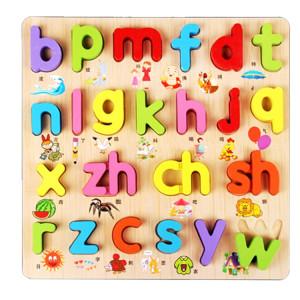 Jouets en bois pour enfants Puzzles Jouets éducatifs Puzzle Conseil Jouet plaque cognitive SH580B798-20