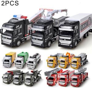 2 PCS Simulation Toy Car 1:48 Alliage Ingénierie Véhicule Enfants Jouet Random Livraison S250091403-20