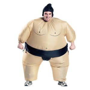 Costume de sumo gonflable adulte Halloween fête du festival de Noël Carnaval gonflé vêtements costumes de lutteur SH56481057-20
