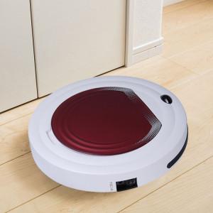 TOCOOL TC-350 Smart Robot Aspirateur de Ménage de Nettoyage Ménager avec Télécommande (Rouge) SH683R355-20