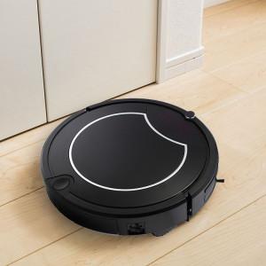 TOCOOL TC-450 Smart Robot Aspirateur Tactile Écran Tactile Ménage Nettoyant avec Télécommande (Noir) SH482B953-20