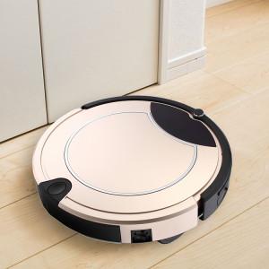 TOCOOL TC-450 Smart Robot Aspirateur à Écran Tactile Robot Nettoyeur Ménager avec Télécommande (Or) SH482J1090-20