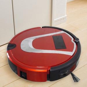 TOCOOL TC-750 Smart Robot Aspirateur Tactile Écran Tactile Robot Nettoyeur Ménager avec Télécommande (Rouge) SH488R901-20