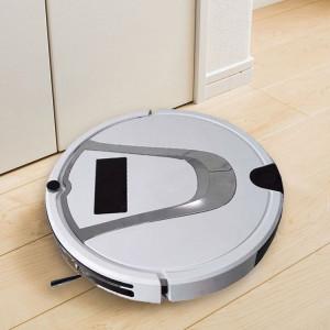 TOCOOL TC-750 Smart Robot Aspirateur à Écran Tactile Robot Nettoyeur Ménager avec Télécommande (Blanc) SH488W1335-20