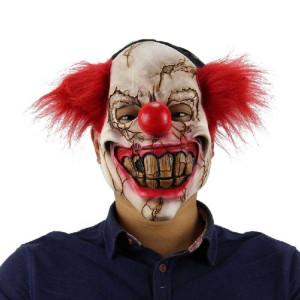 Halloween masque de fête effrayé masque de clown chauve en latex SH6922882-20