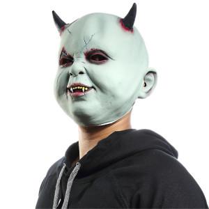 Fête d'Halloween Fête Latex Diable Vampire Masque Effrayé Couvre-chef SH6934720-20