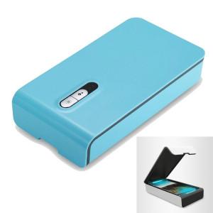 Boîte de nettoyage de stérilisation de désinfection à la lumière UV chargée USB multifonctionnelle pour téléphone / lunettes / bijoux (bleu bébé) SH04TT491-20