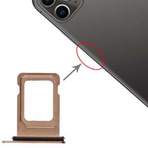 Plateau pour carte SIM + Plateau pour carte SIM pour iPhone 11 Pro Max / 11 Pro (Or) SH019J1416-20