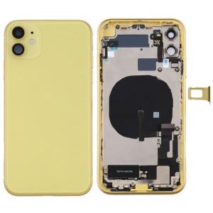 Assemblage du couvercle arrière de la batterie (avec touches latérales et bouton d'alimentation + bouton de volume Câble flexible et module de charge sans fil et moteur et port de charge et haut-parleur et plateau de SH62YL258-20