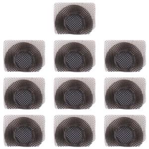 10 PCS Microphone / lampe de poche maille anti-poussière pour iPhone 11 Pro Max / 11 Pro / 11 (noir) SH065B1753-20