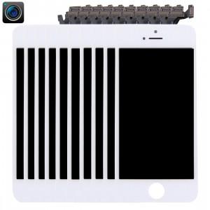 10 PCS iPartsAcheter 4 en 1 pour iPhone 5 (caméra frontale + LCD + cadre + pavé tactile) Assembleur de numériseur (blanc) S190WT1322-20