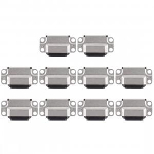 Connecteur de port de charge 10 PCS pour iPad Air 2 (noir) SH251B1431-20