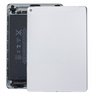 iPartsAcheter pour iPad Air 2 / iPad 6 (version 3G) Couvercle du boîtier de la batterie (argent) SI01SL178-20