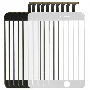 5 PCS Black + 5 PCS Blanc iPartsAcheter 2 en 1 pour iPhone 6 (Lentille extérieure en verre de l'écran avant + câble Flex) S500FF6-20