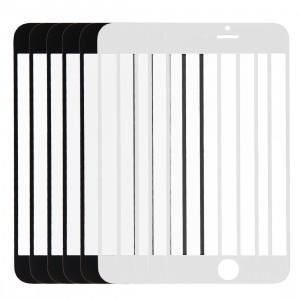 5 PCS Black + 5 PCS Blanc iPartsAcheter pour iPhone 6 Lentille extérieure en verre d'écran avant S500FF1102-20