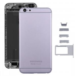 iPartsAcheter 5 en 1 pour iPhone 6s Plus (couverture arrière + plateau de carte + touche de contrôle du volume + bouton d'alimentation + touche de vibration du commutateur de mise en sourdine) couvercle du boîtier de SI13HL295-20