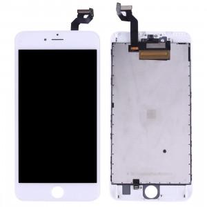 iPartsAcheter 3 en 1 pour iPhone 6s Plus (LCD + Frame + Touch Pad) Assemblage de numériseur (Blanc) SI014W869-20