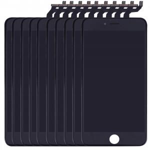 10 PCS iPartsAcheter 3 en 1 pour iPhone 6s Plus (LCD + Frame + Touch Pad) Assemblage Digitizer (Noir) S115BT1159-20