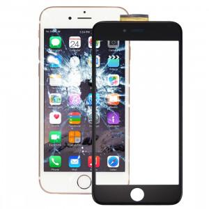 iPartsBuy pour l'iPhone 6s Plus Assemblée de convertisseur analogique-numérique d'écran tactile avec le cadre avant de cadre d'écran d'affichage à cristaux liquides et l'adhésif optiquement clair SI018B358-20