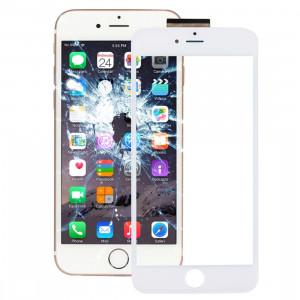 iPartsBuy pour l'iPhone 6s Plus Digitizer Assemblée d'écran tactile avec le cadre avant de cadre d'écran d'affichage à cristaux liquides et l'adhésif optiquement clair d'OCA (blanc) SI018W1768-20