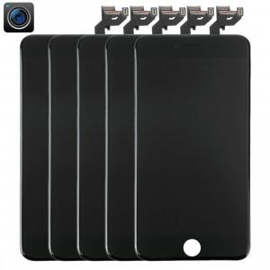 5 PCS iPartsAcheter 4 en 1 pour iPhone 6s Plus (caméra frontale + LCD + cadre + pavé tactile) Assemblée numériseur (noir) S561BT557-20