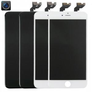 2 PCS Black + 2 PCS Blanc iPartsAcheter 4 en 1 pour iPhone 6s Plus (caméra frontale + LCD + cadre + pavé tactile) Digitizer Assembly S262FF1497-20