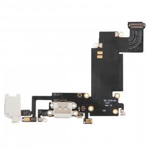 iPartsBuy pour iPhone 6s Plus câble de port de chargement blanc SI20441618-20