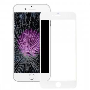 iPartsAcheter pour iPhone 6s Plus Lentille extérieure en verre avec écran frontal Cadre LCD et OCA Optically Clear Adhesive (Blanc) SI500W1606-20