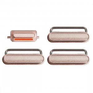 iPartsBuy pour iPhone 6s Plus Clé de Contrôle du Volume + Bouton d'Alimentation + Clé Vibrateur Mute Switch (Or Rose) SI03RG747-20