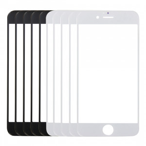 5 PCS Noir + 5 PCS Blanc iPartsAcheter pour iPhone 6 Plus et 6s Plus Lentille extérieure en verre d'écran avant S514FF551-20