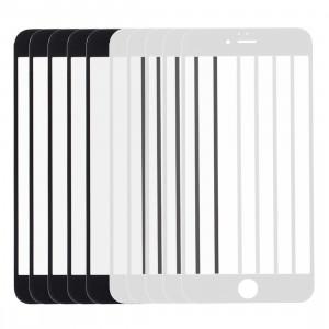 5 PCS Noir + 5 PCS Blanc iPartsAcheter pour iPhone 6s et 6 Écran Avant Lentille En Verre Extérieur S570FF1732-20