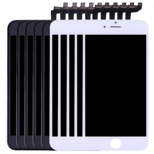 5 PCS Black + 5 PCS Blanc iPartsAcheter 3 en 1 pour iPhone 6s (LCD + Frame + Touch Pad) Digitizer Assemblée S586FF506-20