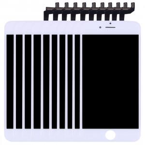 10 PCS iPartsAcheter 3 en 1 pour iPhone 6s (LCD + Frame + Touch Pad) Assemblage Digitizer (Blanc) S187WT101-20