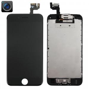 iPartsBuy 4 en 1 pour iPhone 6s (caméra frontale + écran LCD + cadre + pavé tactile) Assembleur de numériseur (noir) SI960B1932-20