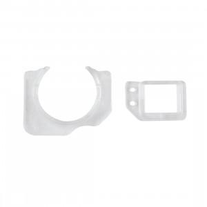 10 PCS iPartsAcheter pour iPhone 6s & 6s Plus Universel Face à la caméra Couvercle de l'objectif Support de cadre et Guide Ensemble de cadre de capteur de lumière de proximité S1300563-20