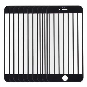 10 PCS iPartsAcheter pour l'écran de verre externe de l'écran avant de l'iPhone 6s (noir) S178BT1658-20