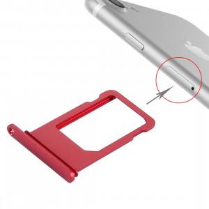 iPartsBuy pour le plateau de carte d'iPhone 7 (rouge) SI499R1450-20